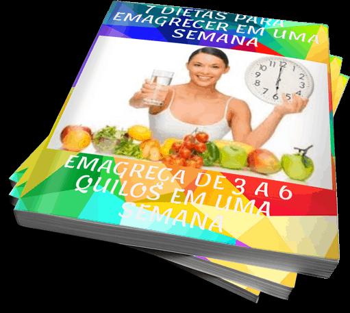7 Dietas para Emagrecer Em Uma Semana
